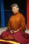 Rinpoche in meditation
